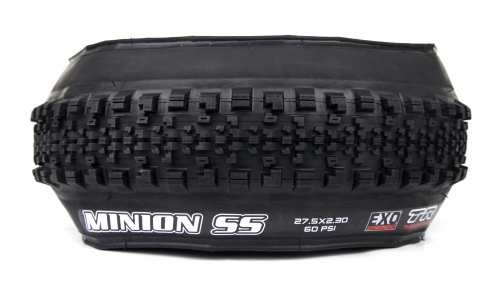 Pneu Maxxis Minion Semi Slick - Dual 62a/60a - EXO Protection - Tubeless Ready assiette