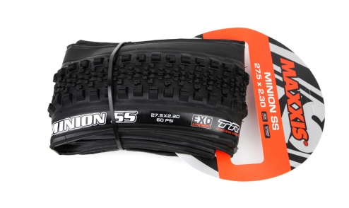 Pneu Maxxis Minion Semi Slick - Dual 62a/60a - EXO Protection - Tubeless Ready pack