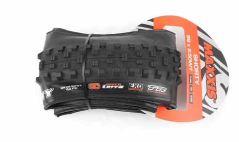 Pneu Maxxis Shorty Wide Trail - EXO Protection - 3C Maxx Terra - Tubeless Ready pack