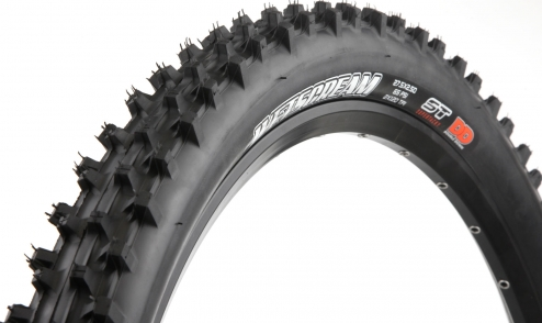 Pneu Maxxis Wetscream - Super Tacky 42a - Double Down jante