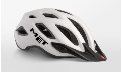 Casco Met Crossover 2019 - Blanco