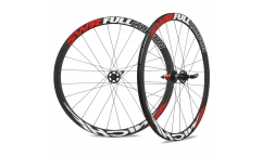 Pair of Miche SWR Full Carbon Cross Wheels - Carbon - Tubular
