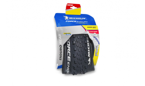 Packaging Michelin Force Enduro Rear Competition Gum-X Gravity Shield Tubeless Ready