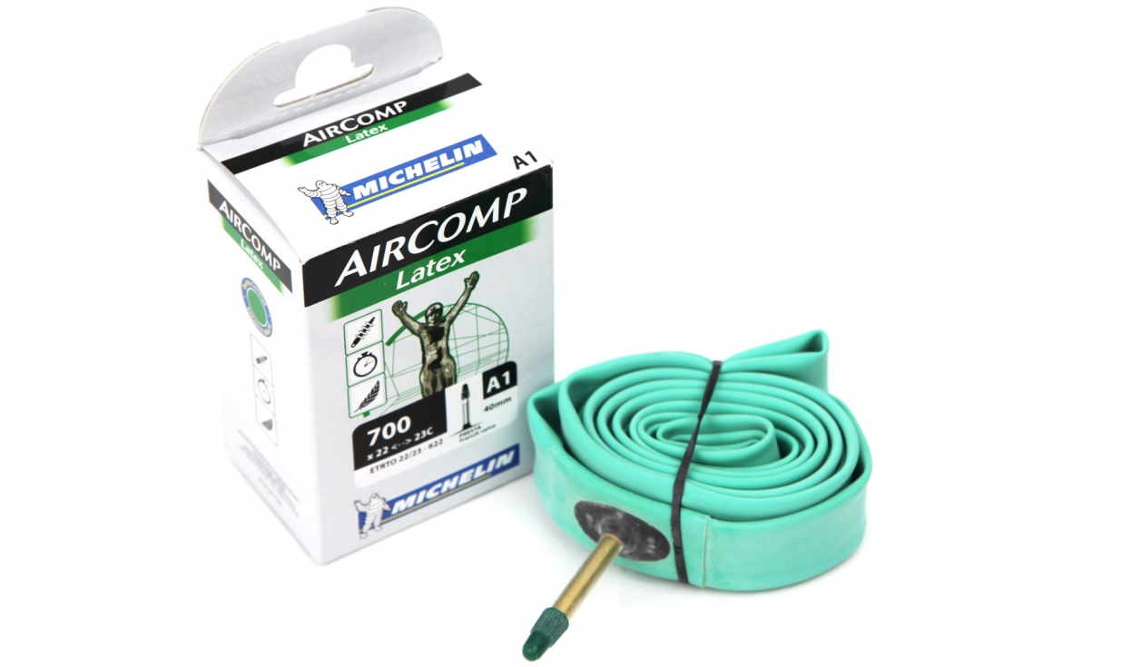 Michelin aircomp latex 700 tube pneus vtt pneus v lo - Vtt tubeless ou chambre a air ...