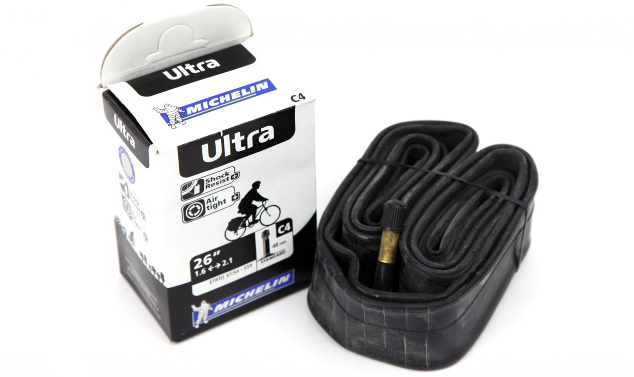 Michelin ultra 26 tube pneus vtt pneus v lo for Chambre a air vtt increvable