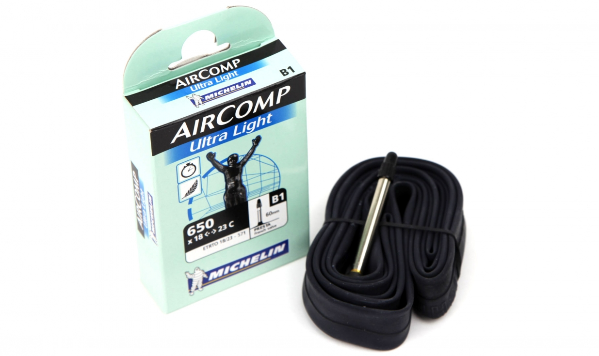 michelin aircomp ultralight 650 tube pneus vtt pneus