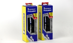 Lot de 2 Pneus Michelin Power Compétition - Race Compound - AramidProtek