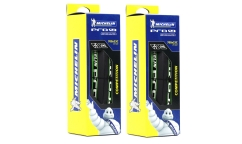 Lot de 2 Pneus Michelin PRO4 Service Course v2 - Bi-Compound - HD Protection