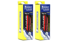 Pair of 2 Michelin PRO4 Endurance Tyres v2 - Bi-Compound - HD Protection Bead2Bead