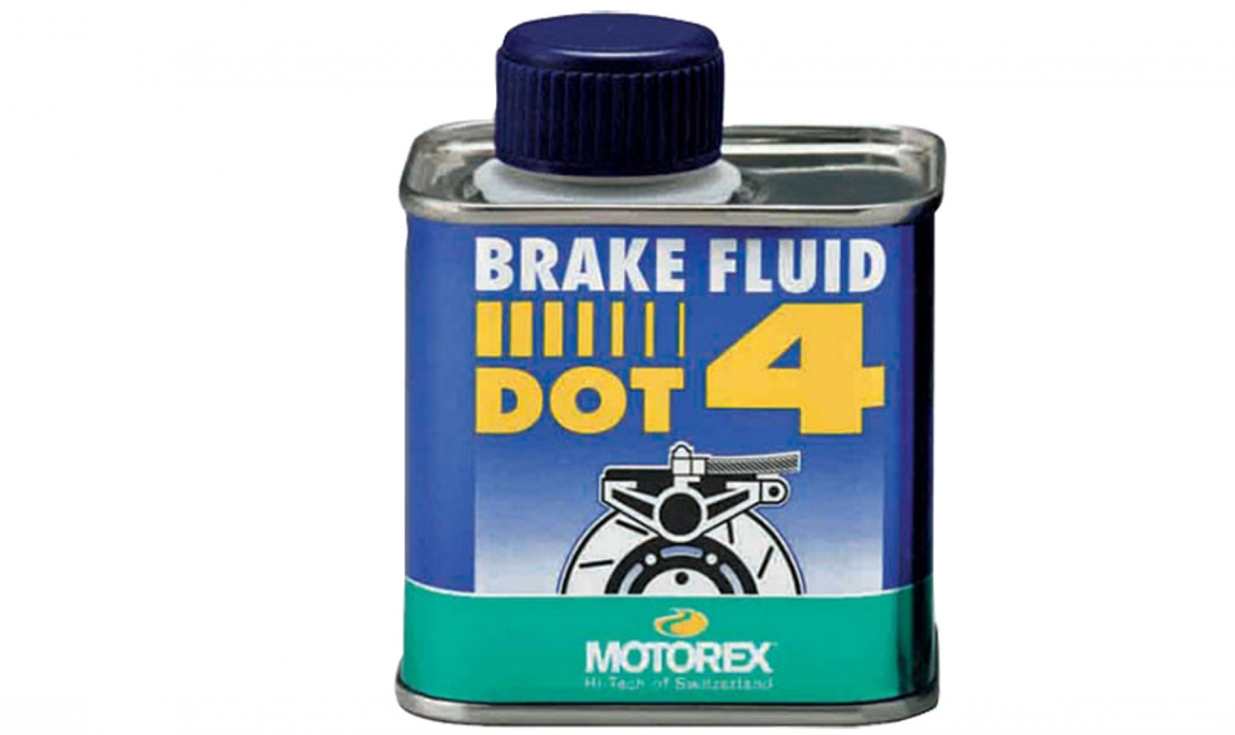 liquide de frein haute performance motorex brake fluid dot 4 bidon 250ml pneus vtt pneus. Black Bedroom Furniture Sets. Home Design Ideas