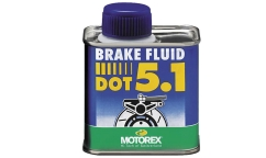 Liquido de Freno Alto Rendimiento  Motorex Brake Fluid - Dot 5,1 - Bidón 250ml