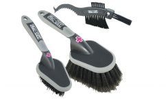 Kit de 3 Brosses Muc Off
