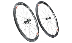 Pair of CBT Italia Nix 40.45 Wheels - Carbon - Tubetype