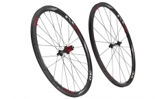 Pair of CBT Italia Nix 30.35 Wheels - Carbon - Tubetype