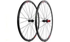 Pair of Nix 27.30 Wheels - Disc Brake - Aluminium - Tubetype