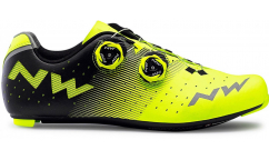 Zapatillas Carretera Northwave Revolution 2019 - Amarillo/Negro