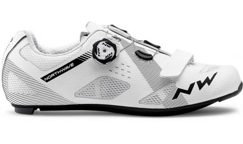 Chaussures Route Northwave Storm 2019 Blanc