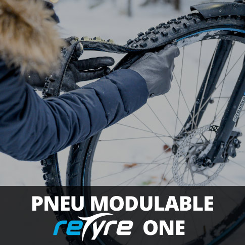 Pneu modulable Retyre