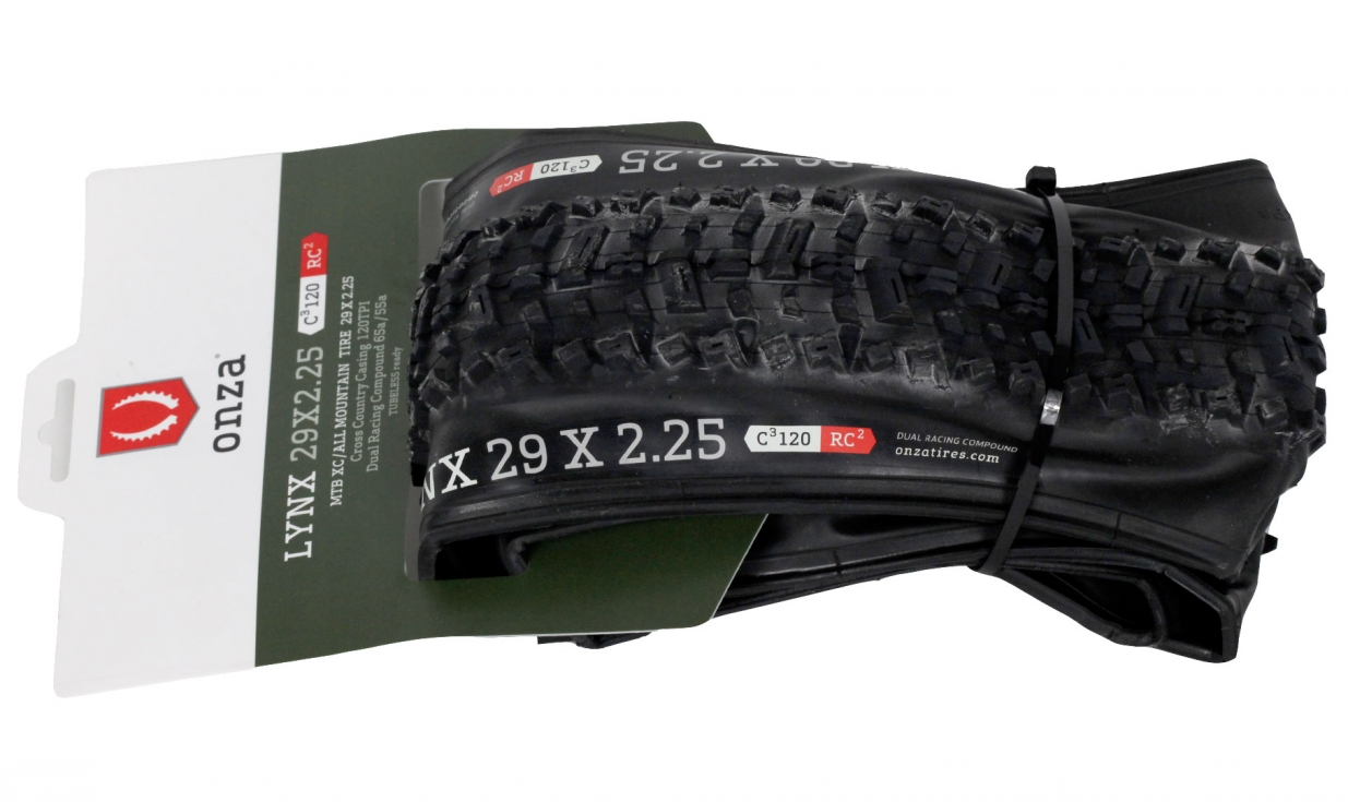 pneu onza new lynx rc 55a c 120 tubeless ready