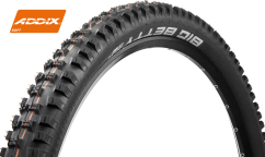 Pneu Schwalbe Big Betty 2021 Addix Soft - Super Trail - Tubeless Easy