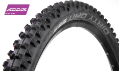 Pneu Schwalbe Dirty Dan - Addix Ultra Soft - Super Gravity - Tubeless Easy