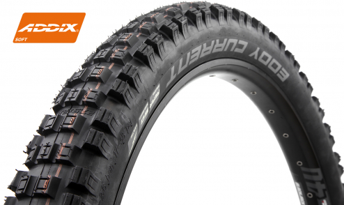 Pneu Schwalbe Eddy Current Rear+ - Addix Soft - Super Gravity - Tubeless Easy