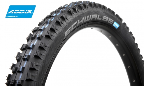 Pneu Schwalbe Magic Mary+ - Addix SpeedGrip - SnakeSkin - Apex - Tubeless Easy