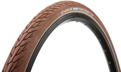 Pneu Schwalbe Road Cruiser 2018 - SBC - TwinSkin - K-Guard marron