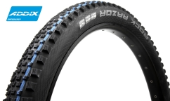Pneu Schwalbe Rock Razor - Addix SpeedGrip - SnakeSkin - Apex - Tubeless Easy