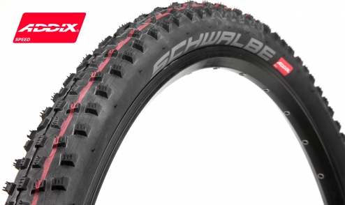 Pneu Schwalbe Rocket Ron - Addix Speed - SnakeSkin - Tubeless Easy jante02