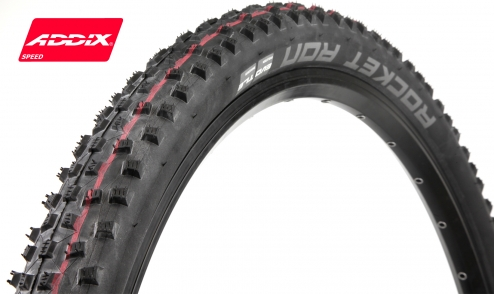 Pneu Schwalbe Rocket Ron - Addix Speed - SnakeSkin - Tubeless Easy jante