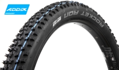 Pneu Schwalbe Rocket Ron+ - Addix SpeedGrip - SnakeSkin - Tubeless Easy