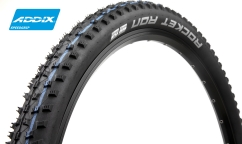 Schwalbe Rocket Ron Tyre - Addix SpeedGrip - SnakeSkin - Tubeless Easy