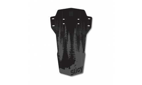 Garde Boue Avant Slicy Enduro DH Design Black Forest