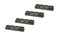 SwissStop RacePro Black Prince Brake Pads  - For Carbon Rims (2 pairs)