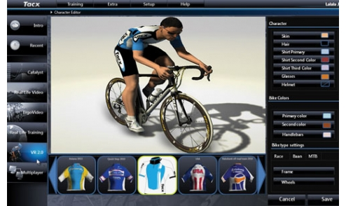 Logiciel Tacx Trainer 4.0 Advanced