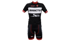 Maillot et Cuissard Team Addictiv - Cycle Tyres Direct by Cervo Rosso