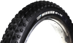 Pneu Fat Bike Vee Tire Mission - 2 Nappes - Tubeless Ready - 72 TPI