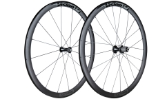 Pair of Vision Team 35 Wheels - Aluminium - Tubetype
