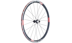 Vision TriMax Carbon 35 Rear Wheel  - Aluminium/Carbon - Tubetype