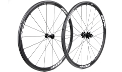 Pair of Zipp 202 Firecrest V3 Wheels - Carbon - Tubular