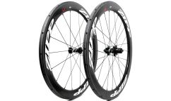 Pair of Zipp 404 Firecrest V3 Wheels - Carbon - Tubular