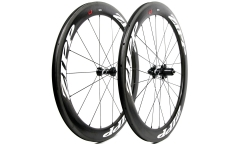 Pair of Zipp 404 Firecrest V3 Wheels  - Carbon - Tubetype