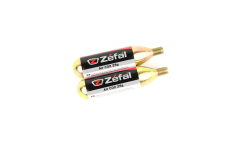 Set of two 25g Zefal threaded CO2 cartridges