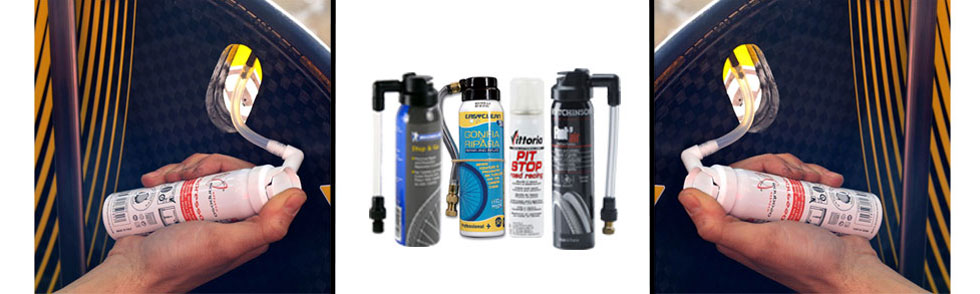 Repair and Inflate Sprays