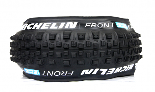 Pneu Michelin E-Wild Front+ - E-Gum-X - Gravity Shield - Tubeless Ready - PROFIL