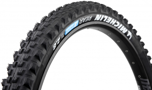 Pneu Michelin E-Wild Rear+ - E-Gum-X - Gravity Shield - Tubeless Ready - JANTE