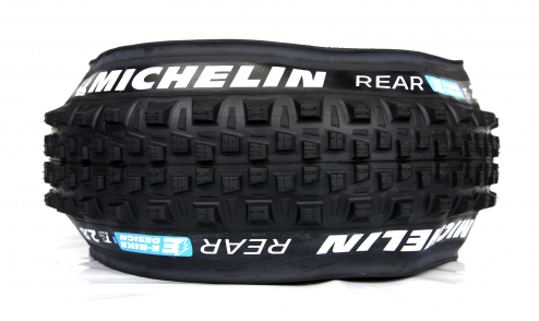 Pneu Michelin E-Wild Rear+ - E-Gum-X - Gravity Shield - Tubeless Ready - PROFIL
